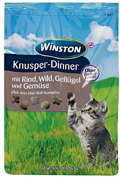 Rossmann Winston Knusper-Dinner mit Rind, Wild, Geflügel und Gemüse