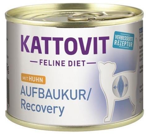 Kattovit Feline Diet Aufbaukur/Recovery Huhn 12x 185g