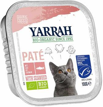 Yarrah Bio-Paté Lachs Garnelen 100g