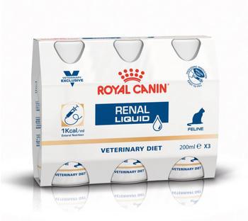Royal Canin Renal Cat Liquid 3x0,2L