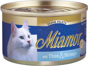 Miamor Feine Filets Thunfisch & Schrimps 100g Dose)