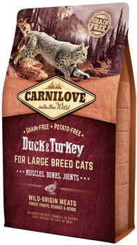 Carnilove Duck & Turkey For Large Breed Cats 2kg