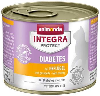 Animonda Integra Cat Protect Diabetes 200g Geflügel