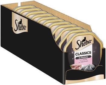 Sheba Classics in Pastete mit Lachs 22 x 85g