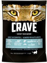 Crave Petfood Adult Trockenfutter mit Lachs & Weissfisch 750g