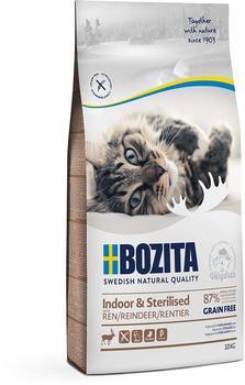 Bozita Indoor & Sterilised Grain free Reindeer 10kg