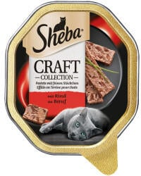 Sheba Craft Collection mit Rind 85g