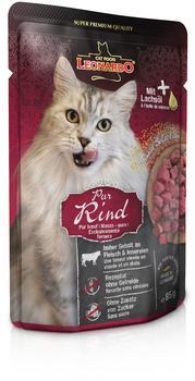 LEONARDO Cat Food Finest Selection Rind pur 85g