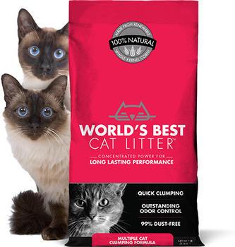 World's Best Cat Litter Multiple Cat Clumping 6,35l