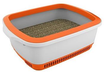 Noba Premium Katzentoilette orange