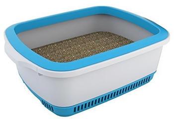 Noba Premium Katzentoilette blau