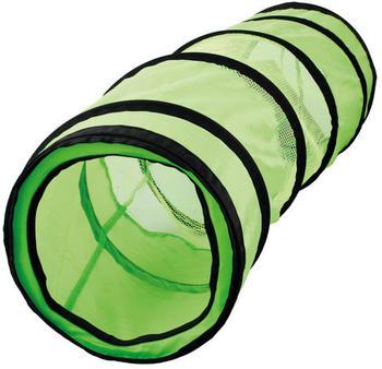 Karlie Katzentunnel grün-schwarz, Maße: 90 cm