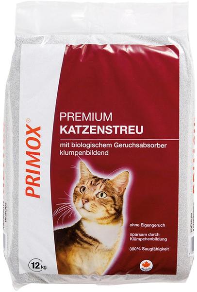 Primox Premium Katzenstreu Klumpstreu mit Geruchsabsorber 12kg