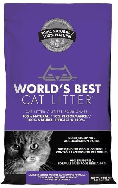 World's Best Cat Litter Multiple Cat Klumpstreu mit Lavendelduft 12.7kg