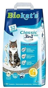 Biokat's Classic Fresh 3in1 Cotton Blossom 10l