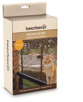 Beeztees Katzenschutznetz für Balkone 8x3m transparent