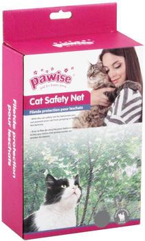 Pawise Katzenschutznetz transparent 6x3m