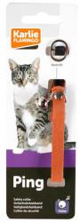 Karlie Katzenhalsband Veloursleder orange