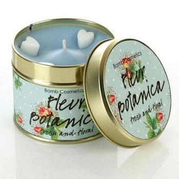 Bomb Cosmetics Fleur Botanical Tin Candle