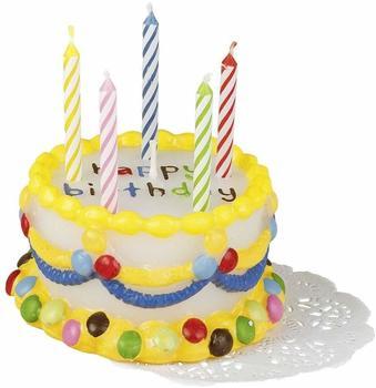 TIB-Heyne Geburtstagskerze Torte Smarties