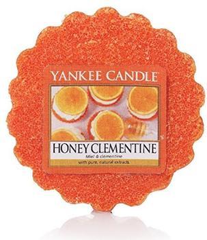 Yankee Candle Honig Clementine Duftwachstörtchen zu schmelzen wachs orange 5,7x5,7x2cm (1510086E)