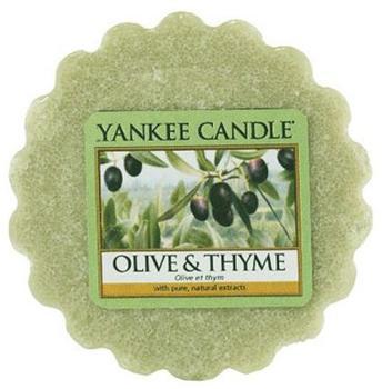 Yankee Candle Olive Thymian Duftwachstörtchen zu schmelzen wachs grün 5,9x5,7x2cm (1507726E)