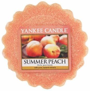 Yankee Candle Sommer Pfirsich Duftwachstörtchen zu schmelzen wachs orange 5,7x5,7x1,7cm (1507732E)