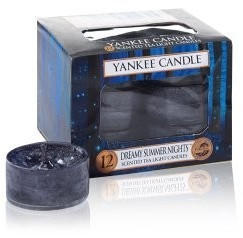 Yankee Candle Teelichte Kerzenwachs 8,4x6,1x8,4cm schwarz (1352151E)