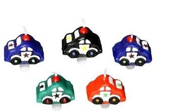 Papstar Geburtstagskerzen Cars inkl. Halter (19845)