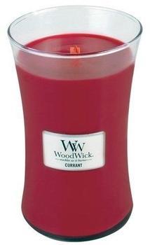 WoodWick Duftkerze im Glas mit Holzdeckel Johanisbeere (93117)
