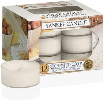 Yankee Candle Spiced White Cocoa Teelichter-Kerzen (1513580E)