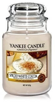Yankee Candle Spiced White Cocoa Kleine Kerze 104g (1513571E)