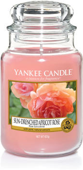 Yankee Candle Sun-Drenched Apricot Rose Große Kerzen im Glas (1577126E)