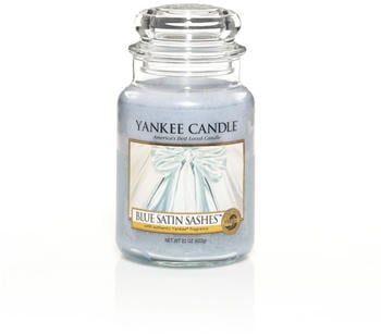 Yankee Candle Blue Satin Sashes Große Kerze 623g