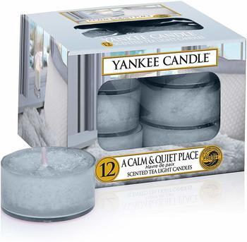 Yankee Candle Teelichter 12-Stk. A Calm & Quiet Place 9,8g