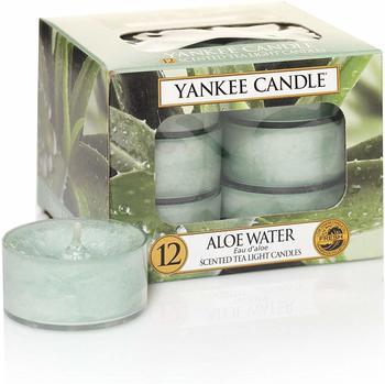 Yankee Candle Teelichter 12-Stk. Aloe Water 9,8g