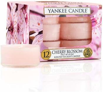 Yankee Candle Teelichter 12-Stk. Cherry Blossom 9,8g