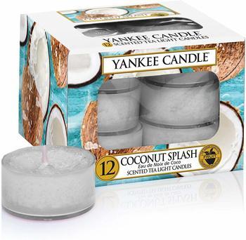 Yankee Candle Teelichter 12-Stk. Coconut Splash 9,8g