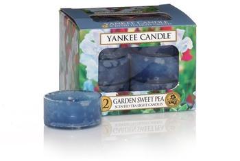 Yankee Candle Teelichter 12-Stk. Garden Sweet Pea 9,8g