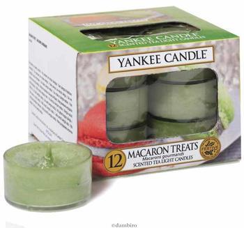 Yankee Candle Teelichter 12-Stk. Macaron Treats 9,8g