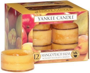 Yankee Candle Teelichter 12-Stk. Mango Peach Salsa 9,8g