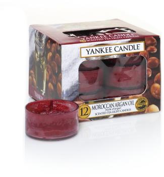 Yankee Candle Teelichter 12-Stk. Moroccan Argan Oil 9,8g