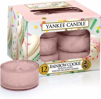 Yankee Candle Teelichter 12-Stk. Rainbow Cookie 9,8g
