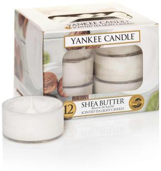 Yankee Candle Teelichter 12-Stk. Shea Butter 9,8g