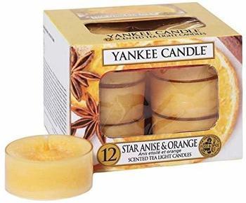 Yankee Candle Teelichter 12-Stk. Star Anise & Orange 9,8g