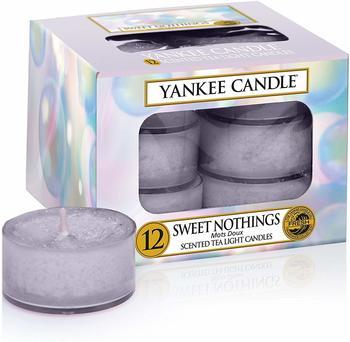 Yankee Candle Teelichter 12-Stk. Sweet Nothings 9,8g
