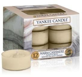 Yankee Candle Teelichter 12-Stk. Warm Cashmere 9,8g