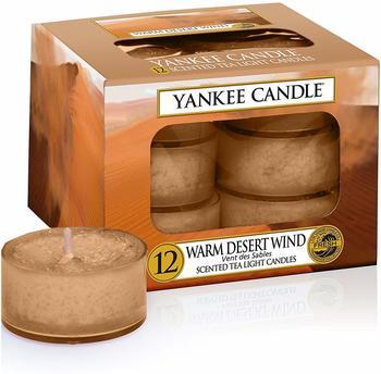 Yankee Candle Teelichter 12-Stk. Warm Desert Wind 9,8g