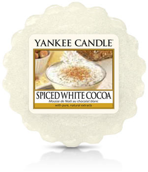 Yankee Candle Wax Melt Spiced White Cocoa 22g
