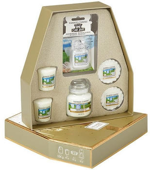 Yankee Candle Holiday Sparkle Clean Cotton Duft-Geschenk-Set